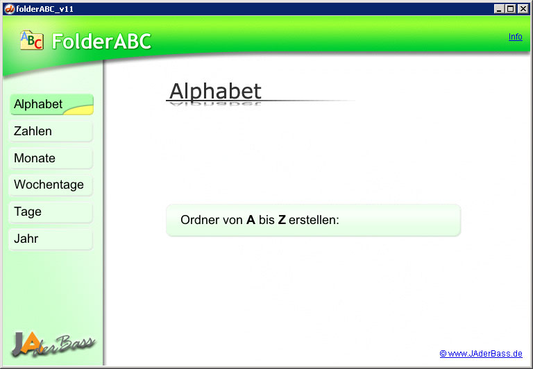 Screenshot folderABC